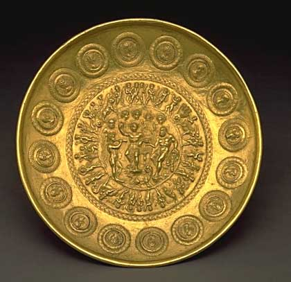 And circle centre coin